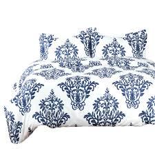 Blue Pattern Duvet Cover Simple Decorating Ideas