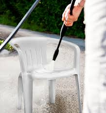 how to clean white plastic deck chairs