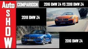 2018 bmw z4 concept. simple 2018 2018 bmw concept z4 vs 2016  comparison auto show in bmw z4 concept