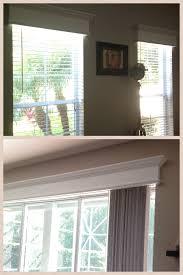 wooden valance for sliding glass door designs