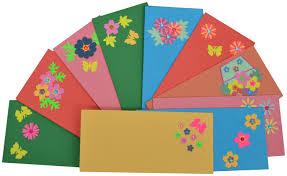 Envelope Design Handmade Rmantra Designer Handmade Shagun Envelopes In Assorted