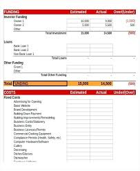 Budget Proposal Template Excel Website Budget Template Design Full Project Of Management Website