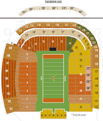 Texas Longhorns Stadium Seating Chart Cell Phone Central