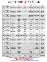 p90x plus schedule
