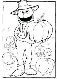Sesame Street Printable Coloring Pages Baby Sesame Street Coloring