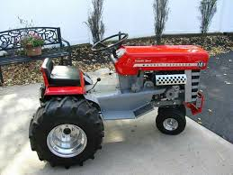 now that mini massey ferguson garden tractor is done right