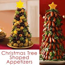 Now stuff that bread with cheese, sprinkle it with dried herbs and bake until golden and you have an adorable and delicious festive appetizer. Christmas Tree Food Fun Holiday Party Recipe Ideas