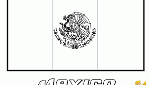 Small Picture Mexico Flag Coloring Coloring Flag Of Mexico 13486 Mexican Flag