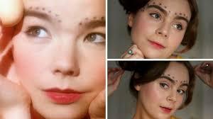 bjork venus as a boy makeup tutorial