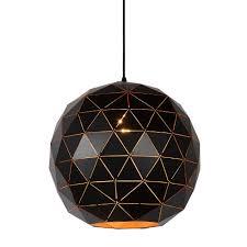 Geometrische Hanglamp Zwart Goud Of Wit