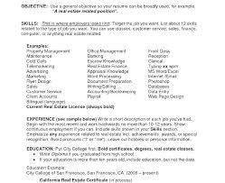 Example Objectives For Resumes General Objective Resume Examples ...