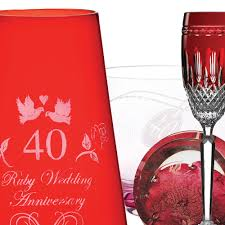 havens 5 best selling 40th ruby wedding anniversary gifts