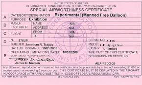 faa form 8130 7 man crossing the atlantic suspended by helium balloons track it