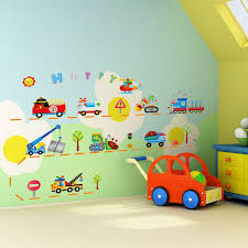 cartoon childrens room bedroom