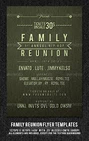 Family Reunion Flyer Templates Free Reunion Flyer Template Under Fontanacountryinn Com