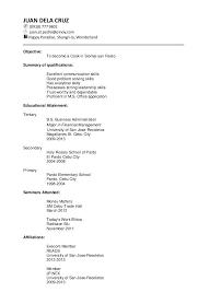Resume Template Chronological Format Modern Chronological Resume Modern Design Chronoligical Sample