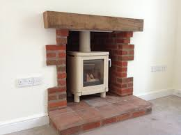 Hagley Stoves Installed This Contura 51l And Painted It Almond Rebuild Fireplace