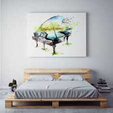 Wall Art Paintings For Living Room Online Get Cheap Piano Art Paintings Aliexpresscom Alibaba Group