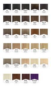 Colour Chart Simplyhair