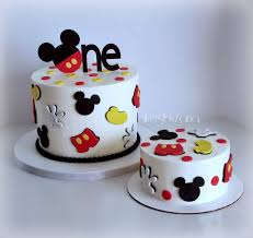 CakesbyZana: Mickey Mouse 1st Birthday Cake