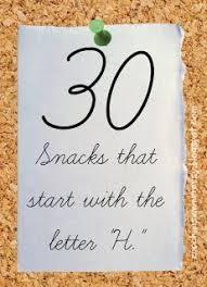 39ed8fe59dc01a1b42a4375caef2a0ce preschool snacks preschool letters