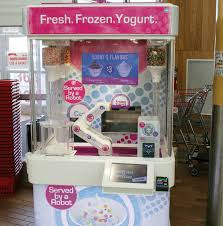 Yogurt Vending Machine Cool FroYo From The Future Robofusion Inc
