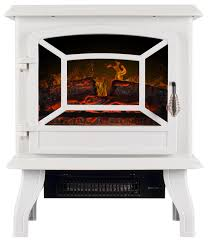17 portable electric stove fireplace white contemporary freestanding stoves by onebig