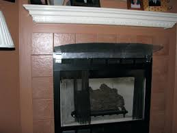 gas fireplace with mantle gas fireplace mantle heat shield gas fireplace mantel