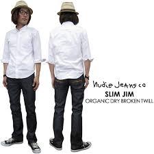 Nudie Slim Jim Size Chart