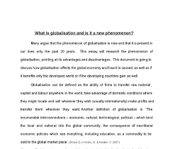 what is globalisation and is it a new phenomenon university document image preview