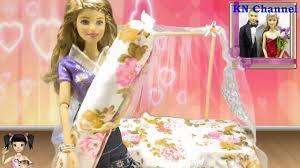 Lucy Channel - Đồ chơi Lucy Búp bê Barbie & Ken review giường búp bê xinh  đẹp Toy story - YouTube