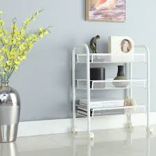 Bathroom : Mesh Rolling Cart Small Dot Bo Bathroom Cart Small ...