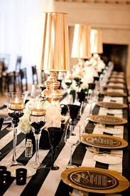black and gold wedding tables off 76
