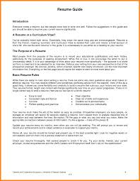 How To Write Resume For First Job Samples Of Resumes A After