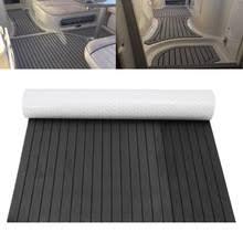samoprzylepna pianka eva teak blachy teak podłogi mata teak Łodzi odeskowanie dla touring car marine yacht dark grey 120 cm x 24