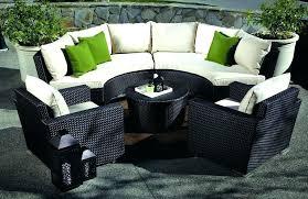 curved outdoor seating circular garden bench seat area