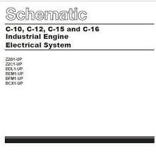 cat diesel engine electric and electronic manuals cat c10 c12 c15 c16 wiring diagram p1