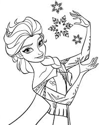 Small Picture Elsa Coloring Pages coloreartu Pinterest Elsa and Free printable