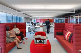 Relaxing Office Design Common Office Spaces Are Also Alluring To Clients Wsj