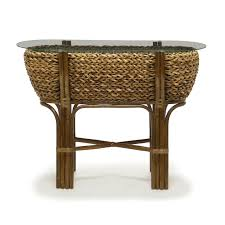 rattan console table. Woven Console Table Maui Collection Sea Winds Trading Rattan