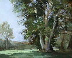 landscape plein air paintings