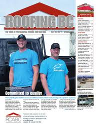 roofing bc fall by rcabc issuu
