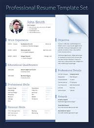 Resume In Doc Docx Indd Psd Eps And Ai Format By Khatrijiya On
