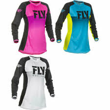 Details About 2019 Fly Racing Girls Youth Lite Motocross Dirt Bike Jersey Pick Size Color