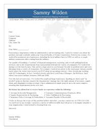 resume cover letter examples sample resume cover letter cover a cover letter examples of a good
