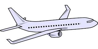 رسم طائرة ركاب