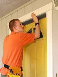 install front doorBest 25 Exterior door trim ideas on Pinterest  DIY exterior door