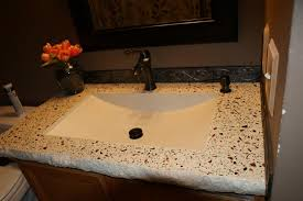 bathroom concrete vanity sink portfolio north metro twin cities minneapolis st paul north metro concrete countertops custom solid surface counter tops