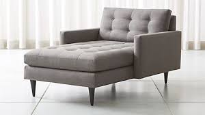 living room furniture chaise lounge. Petrie Midcentury Chaise Lounge Living Room Furniture