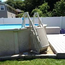 diy above ground pool steps above ground pool ladders for elderly diy above ground pool steps